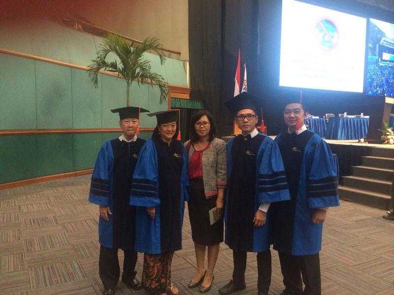 President Director Nutrifood Indonesia Dapatkan Magna Cum Laude Dan Raih Gelar Doktor Kesembilan BINUS University