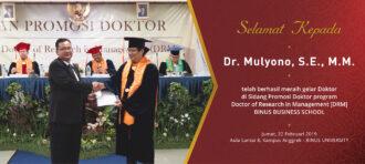 Dr Mulyono