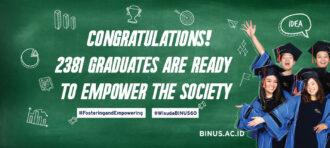 Wibowo Kosasih Berhasil Meraih Gelar Doktor di BINUS University