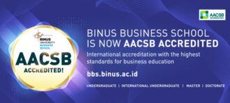 BINUS Business School at Bina Nusantara University Earns AACSB International Accreditation