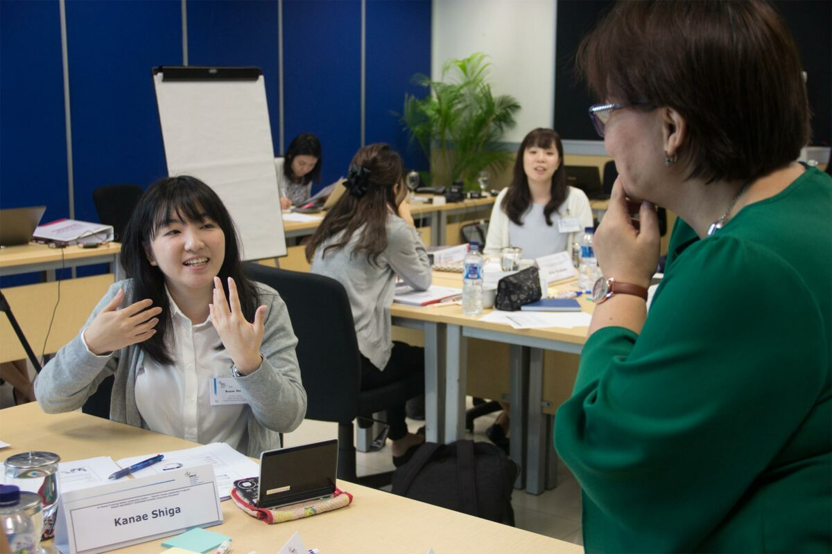 Our Overseas Young Leadership Program in Class