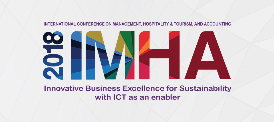 International Conference on Management, Hospitality & Tourism, and Accounting