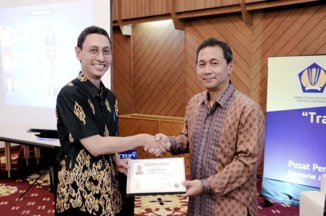 Dr. Marko S Hermawan receives a CPMA certification