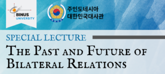 Special lecture of the Ambassador of Republic of Korea at BINUS University