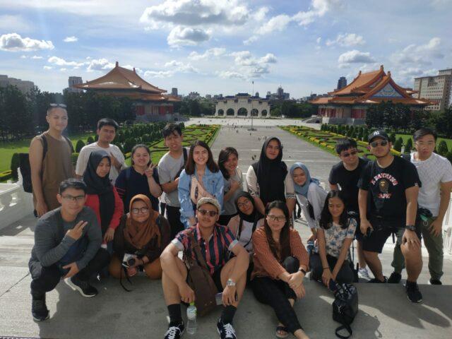 At Chiang Kai-Shek Memorial Hall