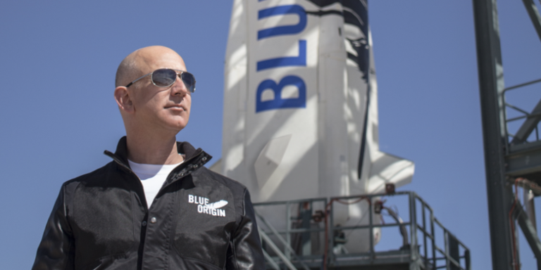 """Jeff Bezos: We Can't Choose the """"Passion"""" That We Want"""