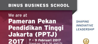 VISIT BINUS BUSINESS SCHOOL AT INDONESIA CAREER EXPO 2017
