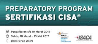 PREPARATORY PROGRAM – CISA® CERTIFICATION