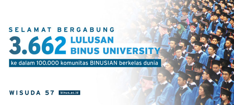 BINUS University Held the 56th Graduation Ceremony