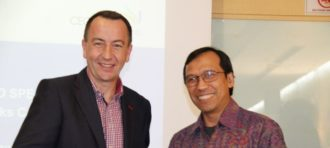 """LOVE AND HUMANITY"" IN CEO SPEAKS WITH THE LEADER OF STARBUCKS INDONESIA"
