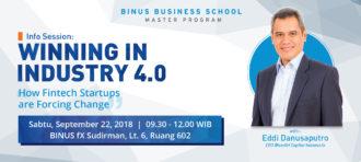 Info Session and Start-Up Mentoring by Yasa Singgih at BINUS @Malang