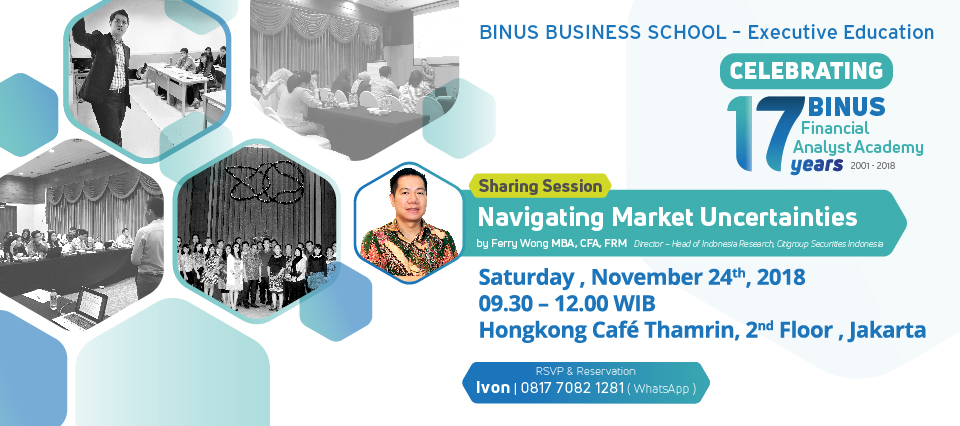 BINUS BUSINESS SCHOOL Open Consultation at Malang