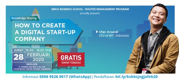 BINUS BUSINESS SCHOOL at IIETE 2020